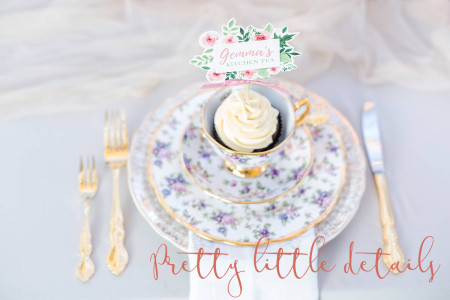 kitchen tea bridal shower decor theme venue